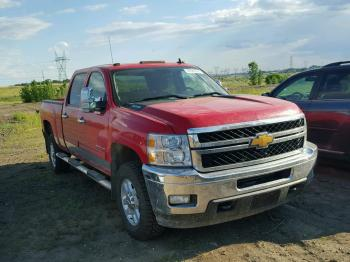 Salvage Chevrolet Silverado 2500HD